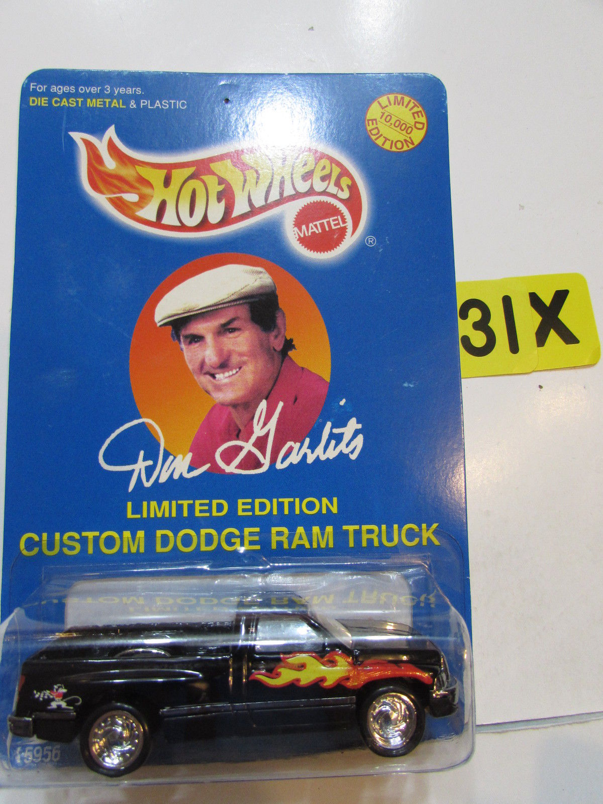 HOT WHEELS 1996 LIMITED EDITION CUSTOM DODGE RAM TRUCK BLACK