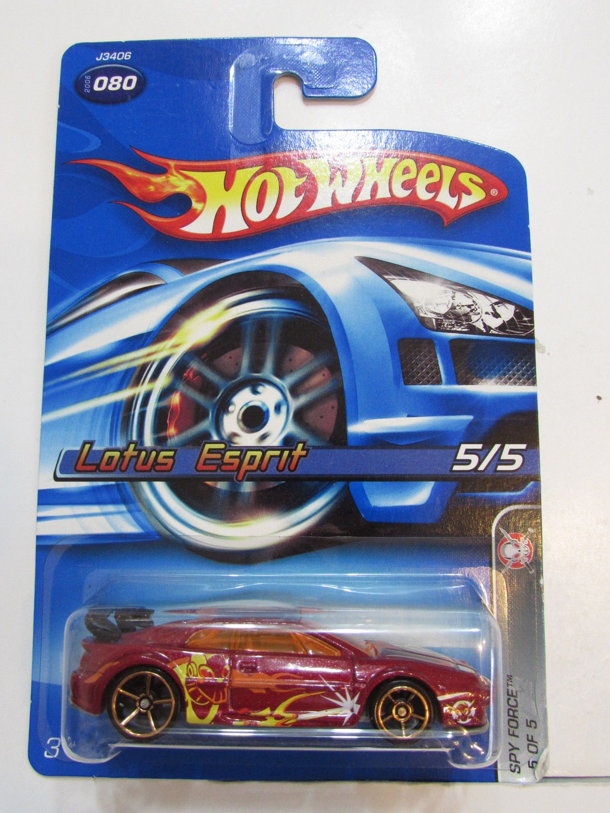 2006 HOT WHEELS LOTUS ESPIRIT #080