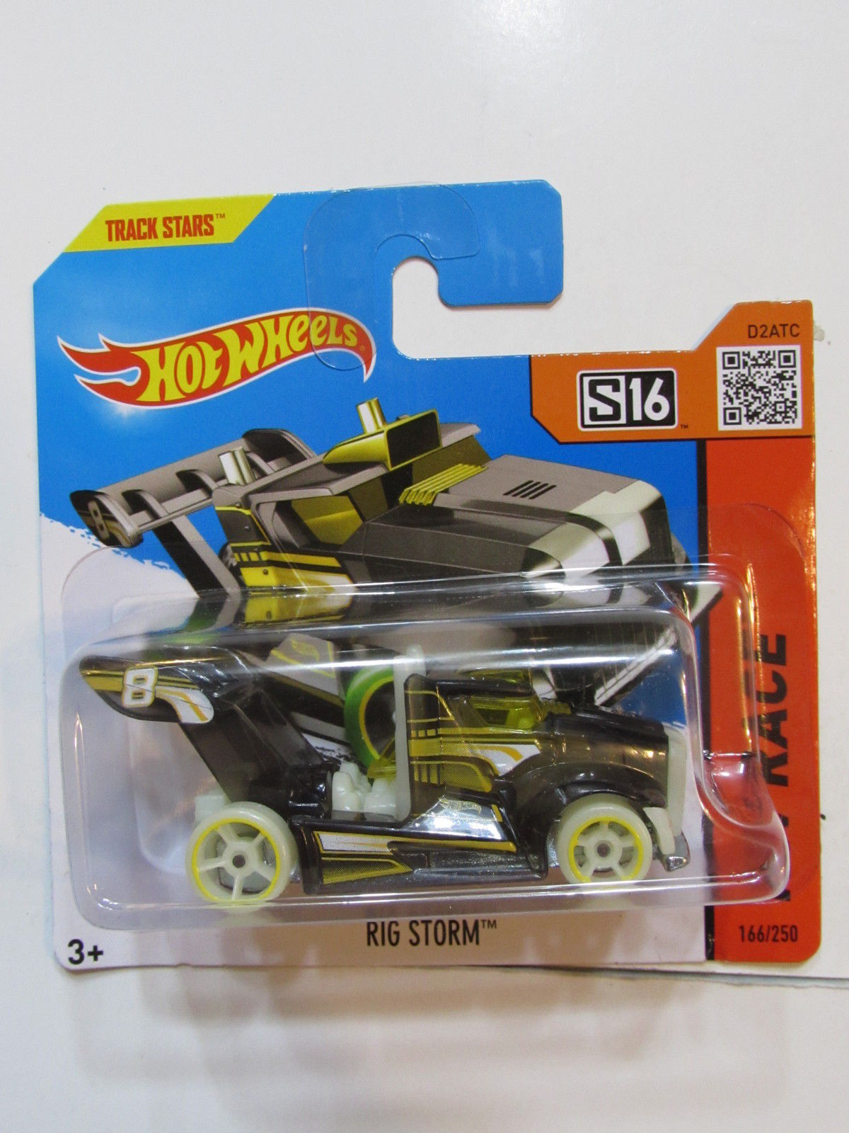 HOT WHEELS 2015 HW RACE - RIG STORM SHORT CARD