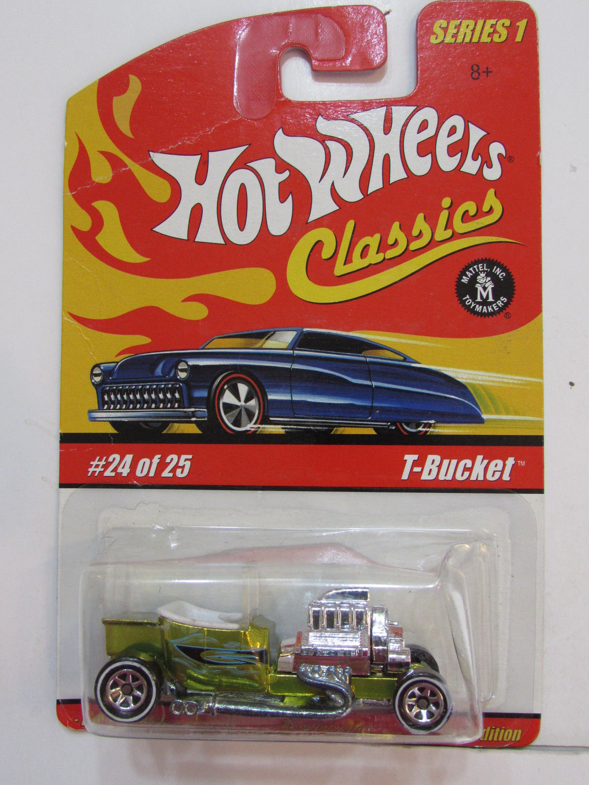 HOT WHEELS CLASSICS SERIES 1 #24/25 T-BUCKET GREEN