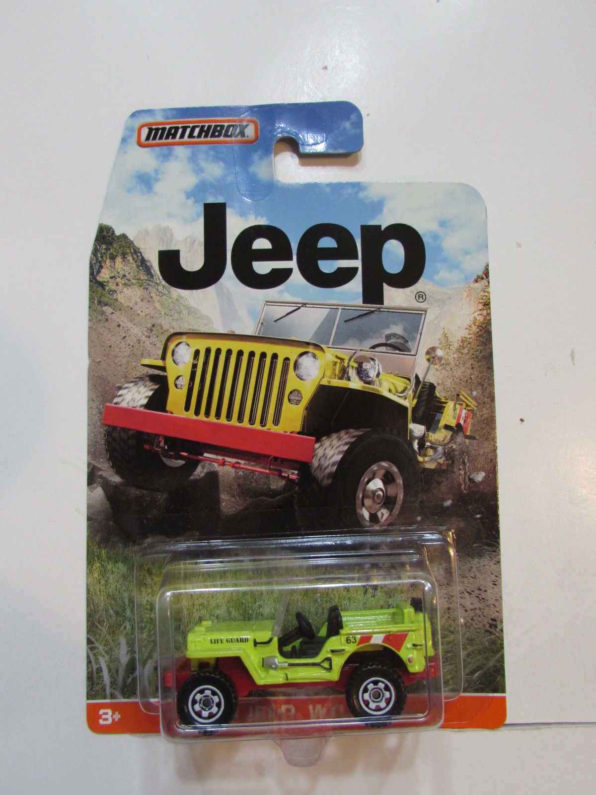 MATCHBOX 2015 JEEP '43 JEEP WILLYS GREEN