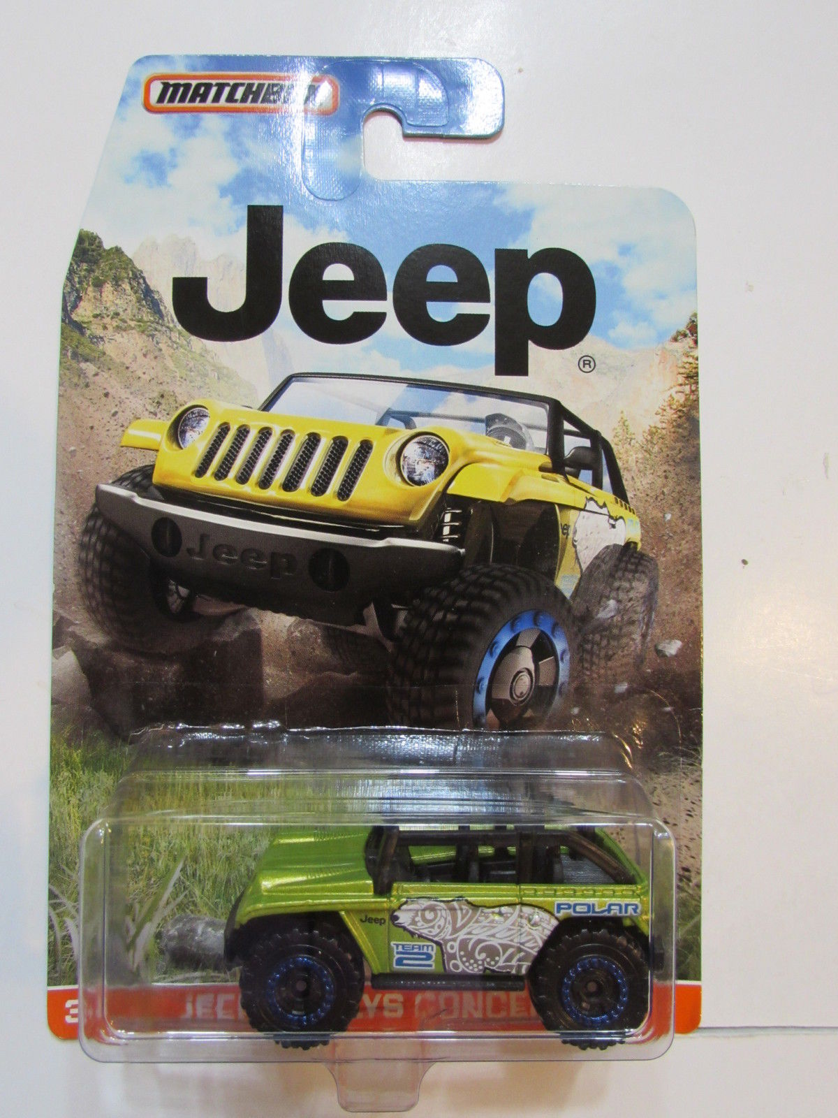MATCHBOX 2015 JEEP WILLYS CONCEPT