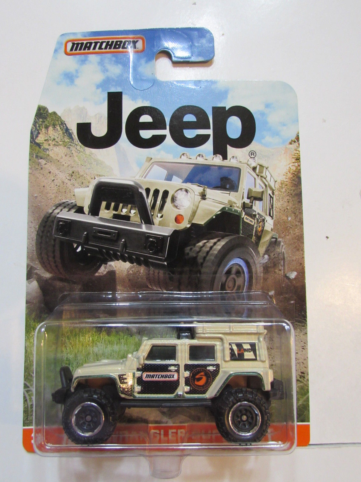MATCHBOX 2015 JEEP WRANGLER SUPERLIFT