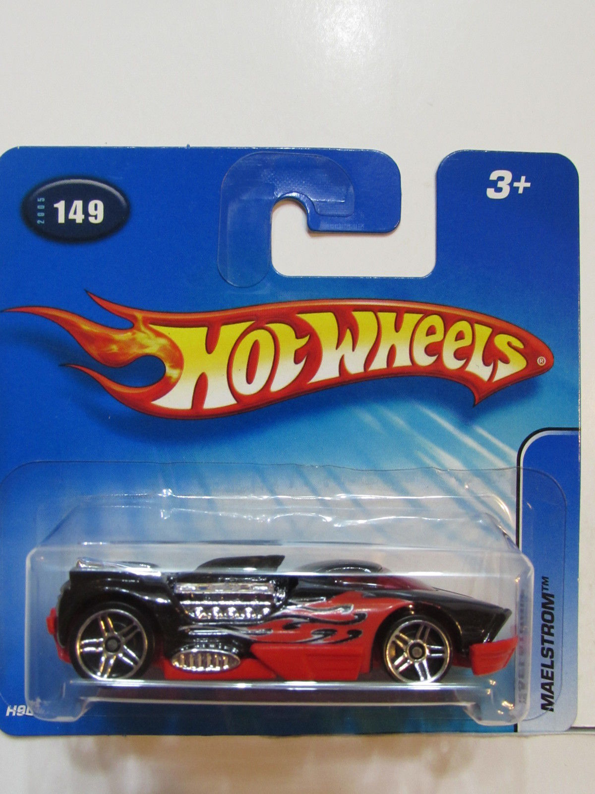 HOT WHEELS 2005 MAELSTROM #149 PR5 WHEELS SHORT CARD