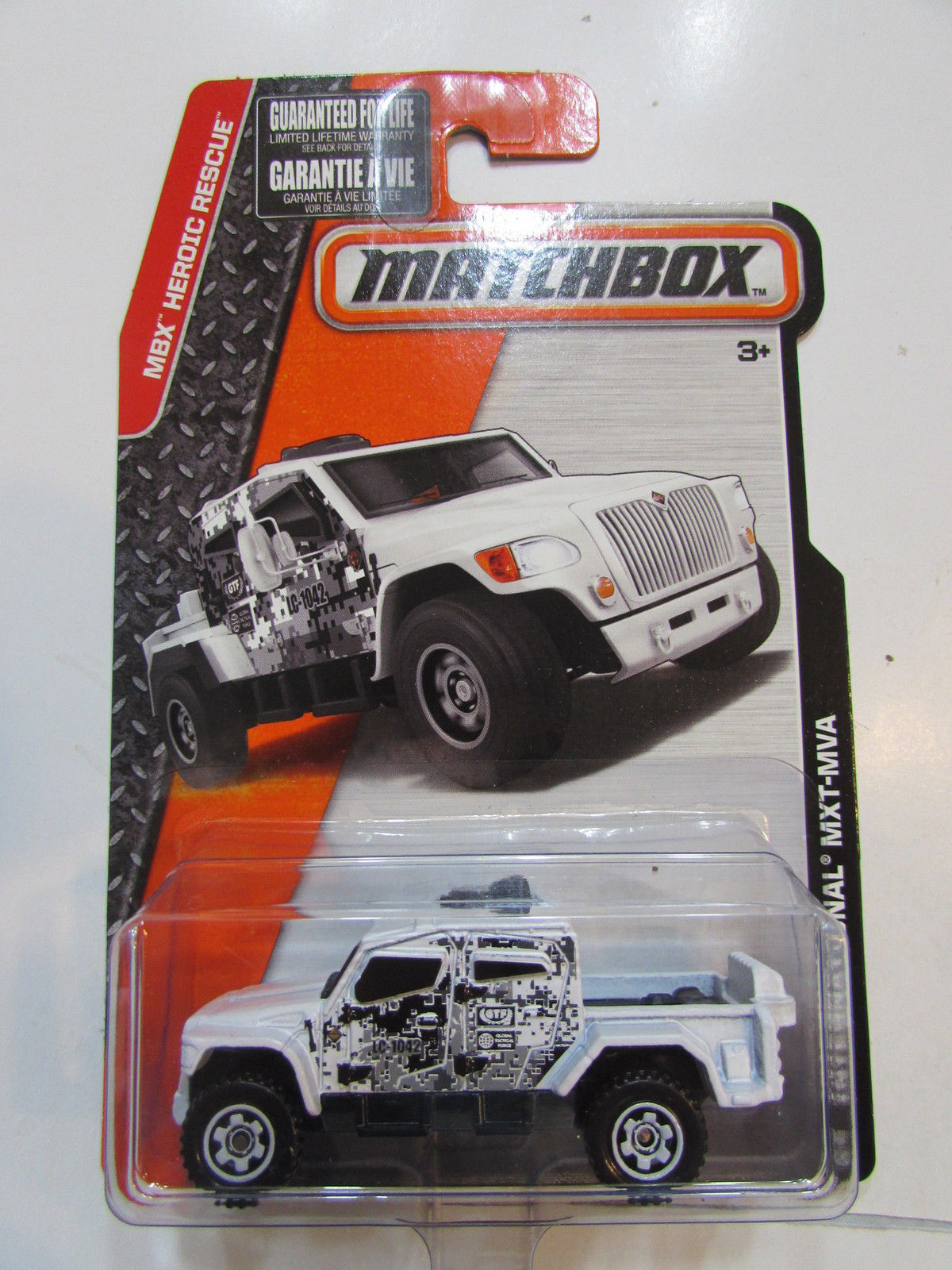 MATCHBOX 2015 HEROIC RESCUE INTERNATIONAL MXT - MVA