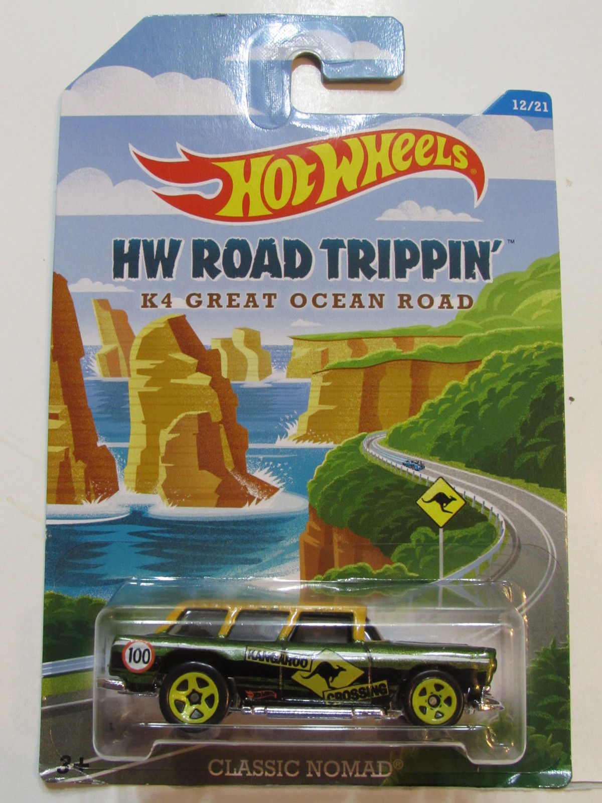 HOT WHEELS HW ROAD TRIPPIN' K 4 GREAT OCEAN ROAD - CLASSIC NOMAD