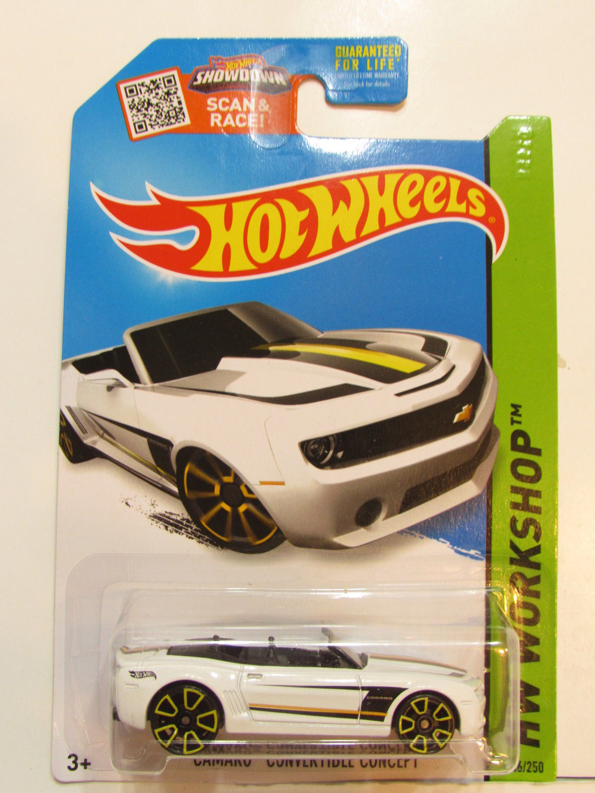 HOT WHEELS 2015 HW WORKSHOP - THEN & NOW CAMARO CONVERTIBLE CONCEPT