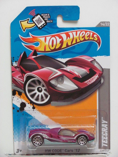 HOT WHEELS 2012 HW CODE CARS #14/22 TEEGRAY E+