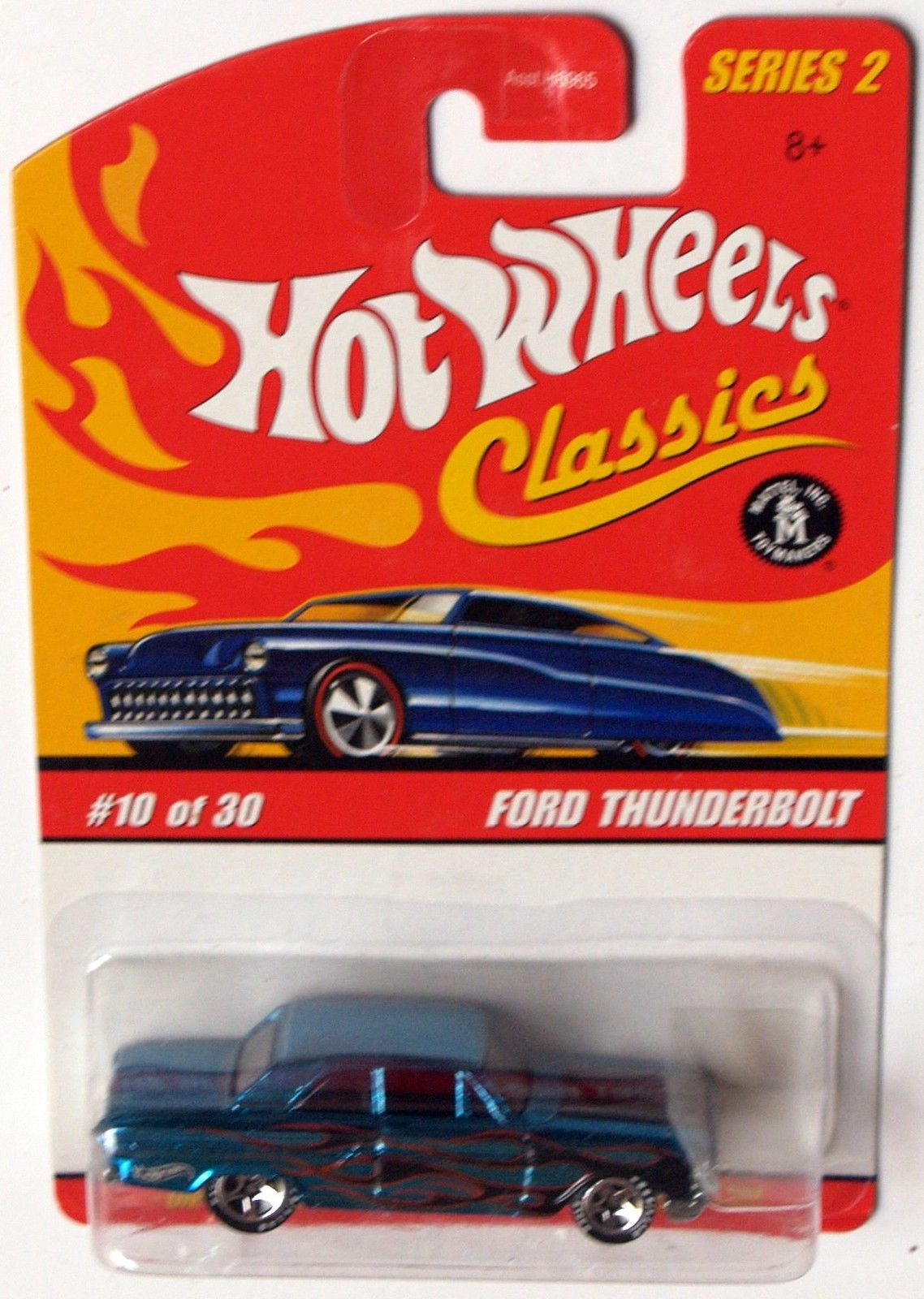 HOT WHEELS CLASSICS SERIES 2 FORD THUNDERBOLT