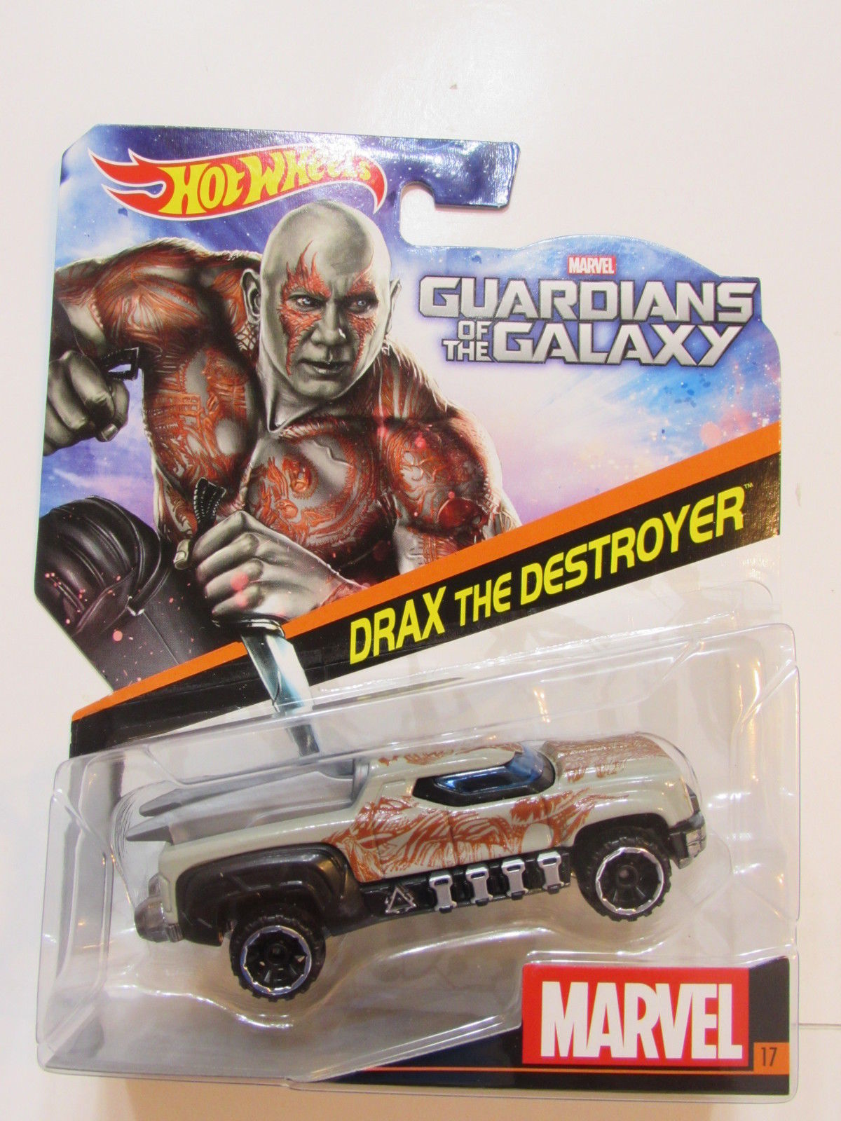 HOT WHEELS MARVEL GUARDIANS OF THE GALAXY BRAX THE DESTROYER E+