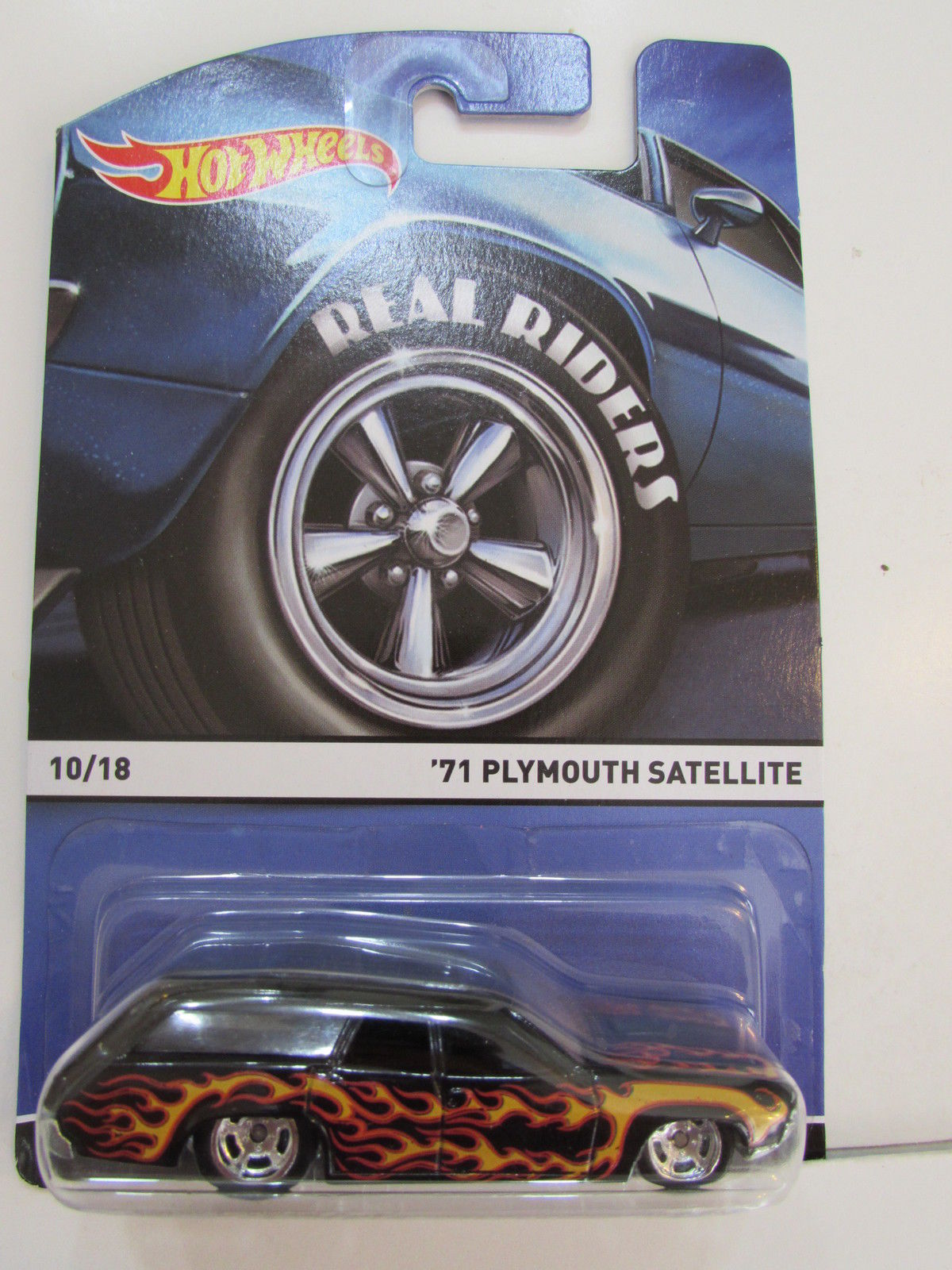 HOT WHEELS REAL RIDERS 2015 '71 PLYMOUTH SATELLITE #10/18