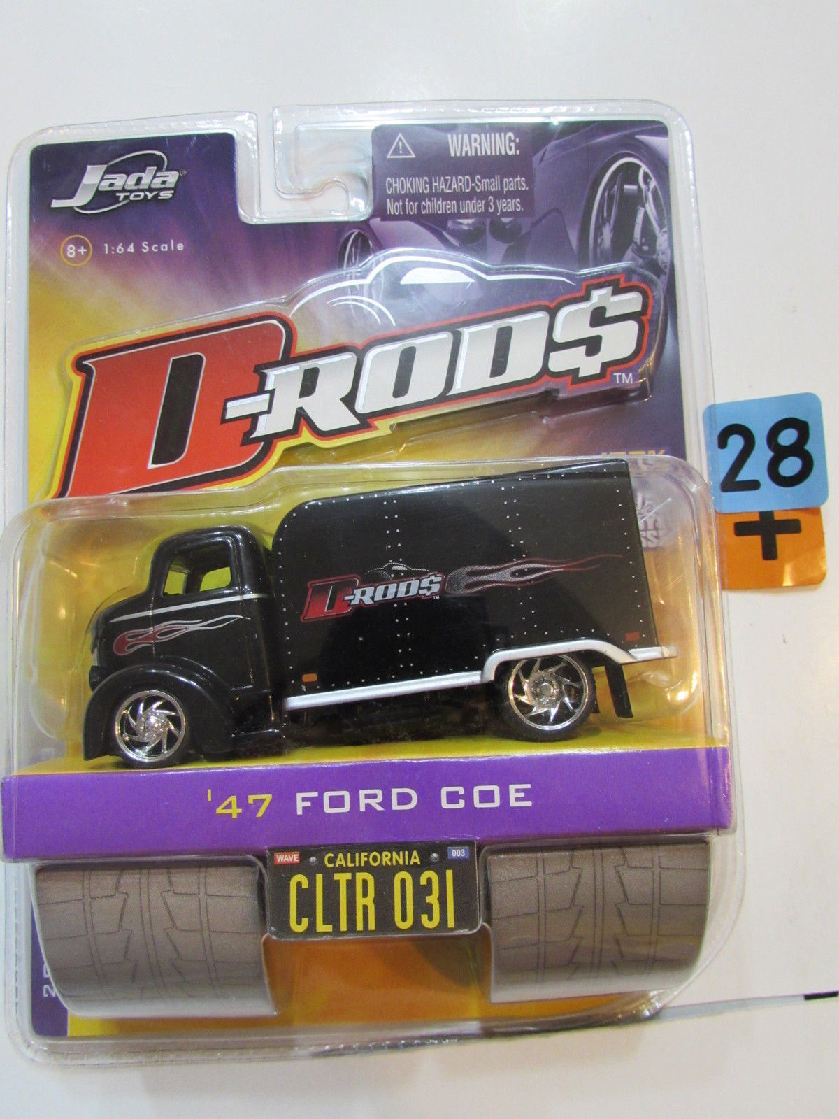 JADA TOYS 2006 D RODS WAVE 3 - '47 FORD COE CLTR 031
