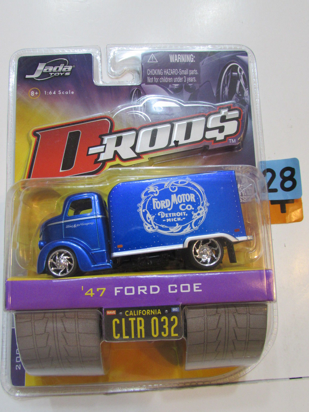 JADA TOYS 2006 D RODS WAVE 3 - '47 FORD COE CLTR 032 BLUE