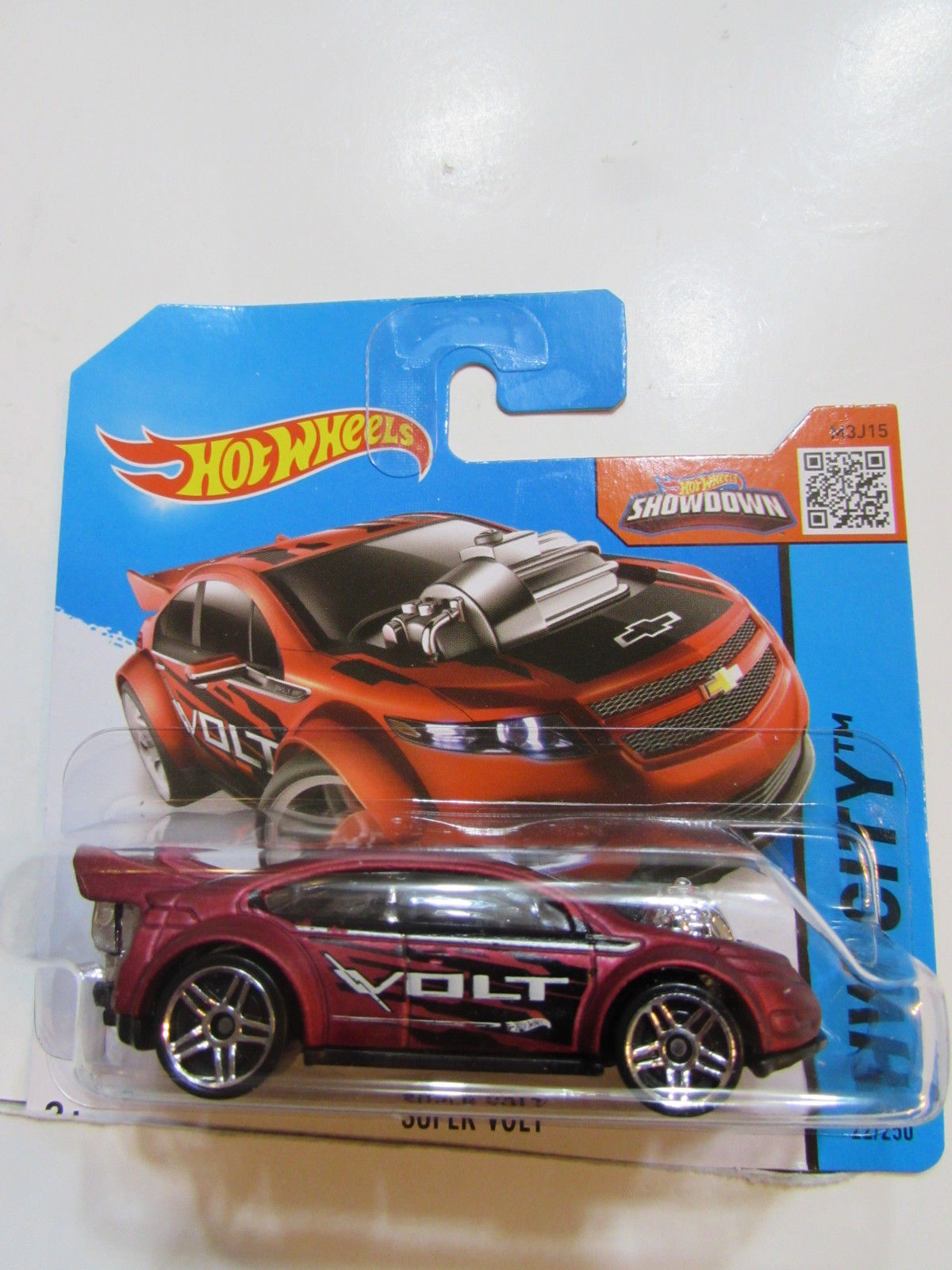 HOT WHEELS 2015 HW CITY - SUPER VOLT SHORT CARD