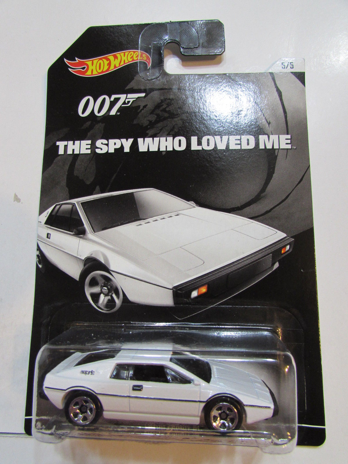 HOT WHEELS 2015 007 - THE SPY WHO LOVED ME - LOTUS ESPRIT S1
