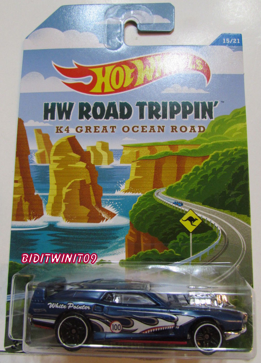 HOT WHEELS HW ROAD TRIPPIN' K4 GREAT OCEAN ROAD - RIVITED