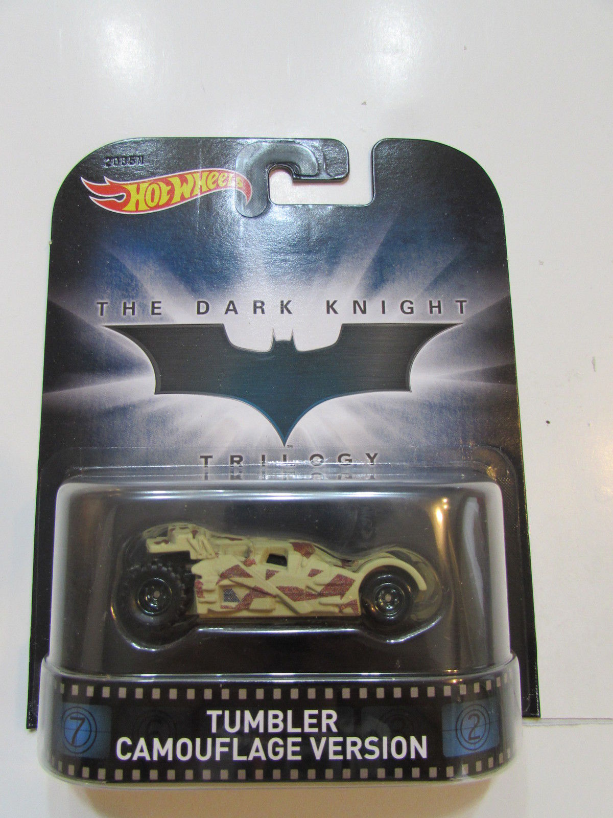 HOT WHEELS RETRO ENTERTAINMENT THE DARK KNIGHT - TUMBLER CAMOUFLAGE VERSION