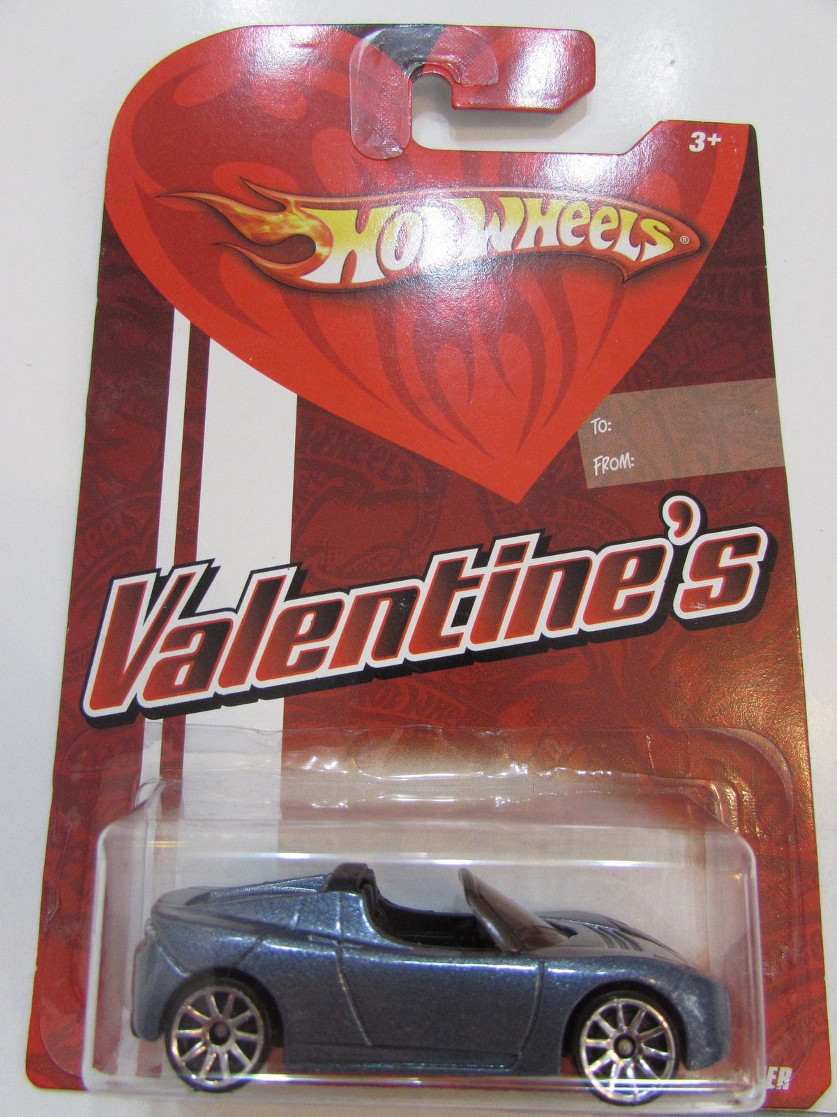 HOT WHEELS 2008 VALENTINE'S - TESLA ROADSTER