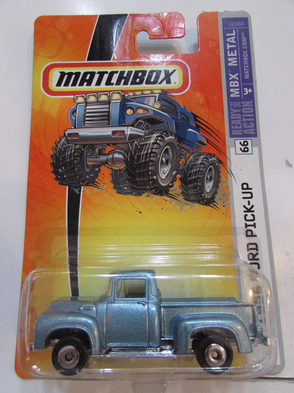 MATCHBOX MBX METAL 1956 FORD PICK - UP #66