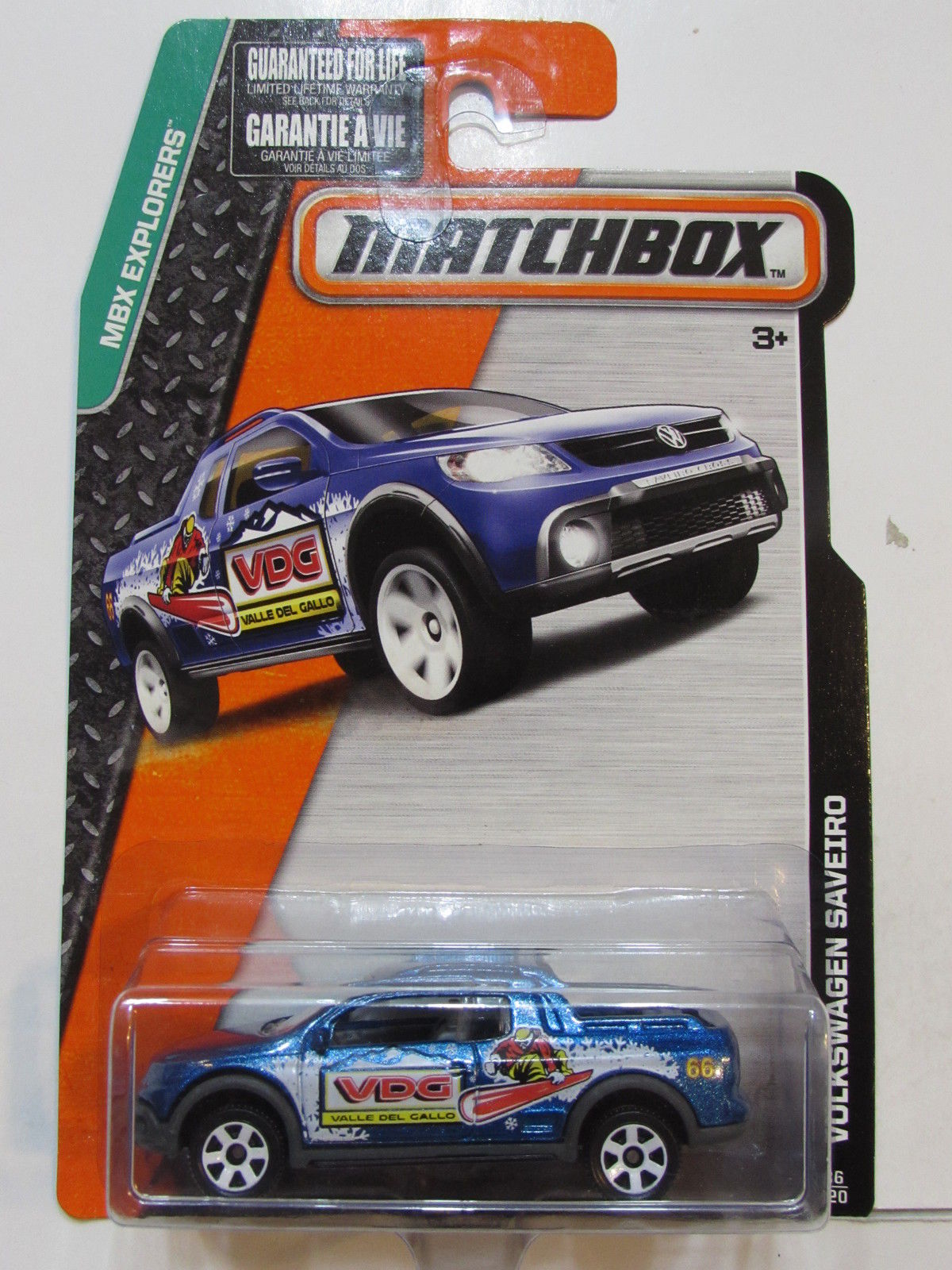MATCHBOX 2014 MBX EXPLORERS VOLKSWAGEN SAVERIO