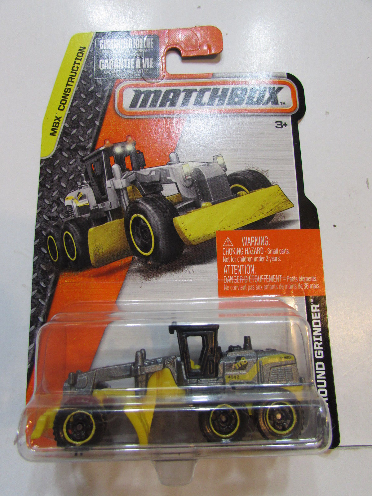 MATCHBOX 2015 MBX CONSTRUCTION - GROUND GRINDER
