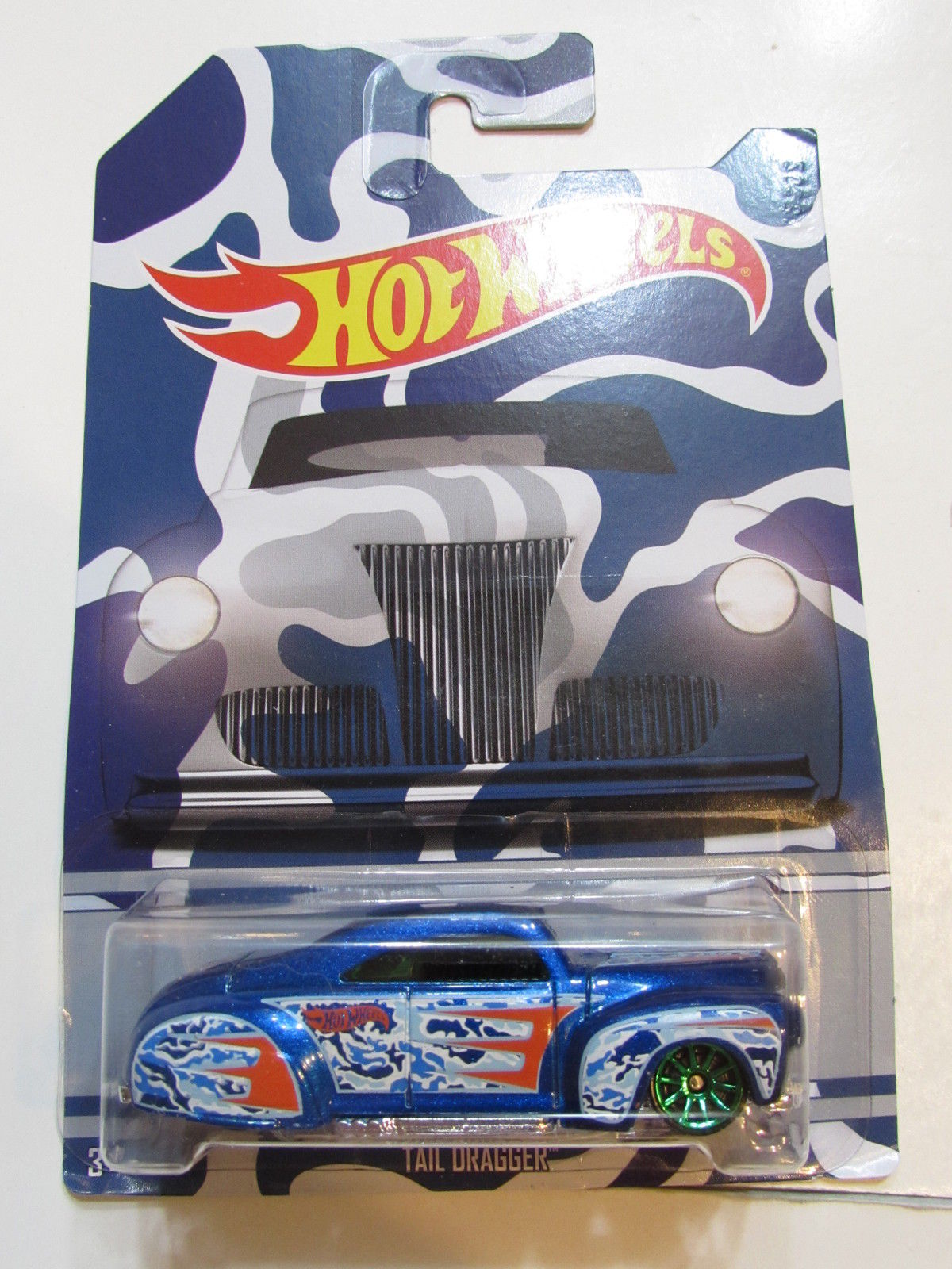 HOT WHEELS CAMOUFLAGE WALMART EXCLUSIVE TAIL DRAGGER #5/6
