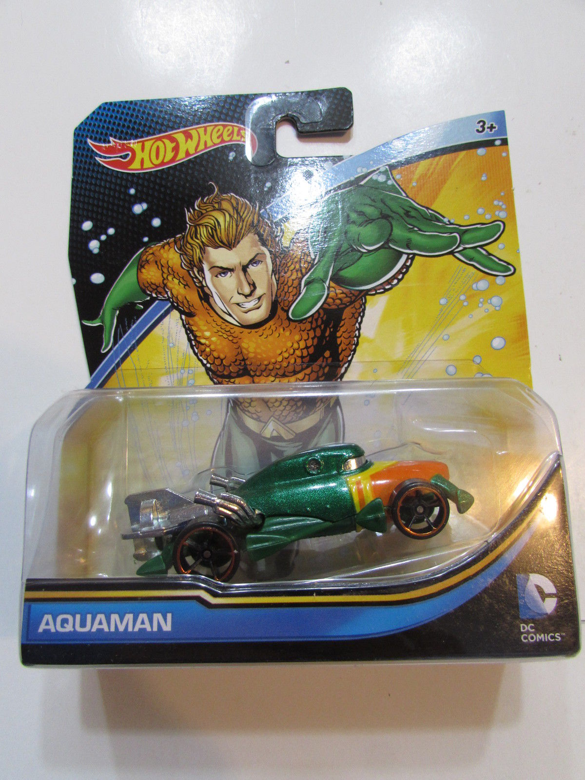 HOT WHEELS 2014 DC COMICS AQUAMAN
