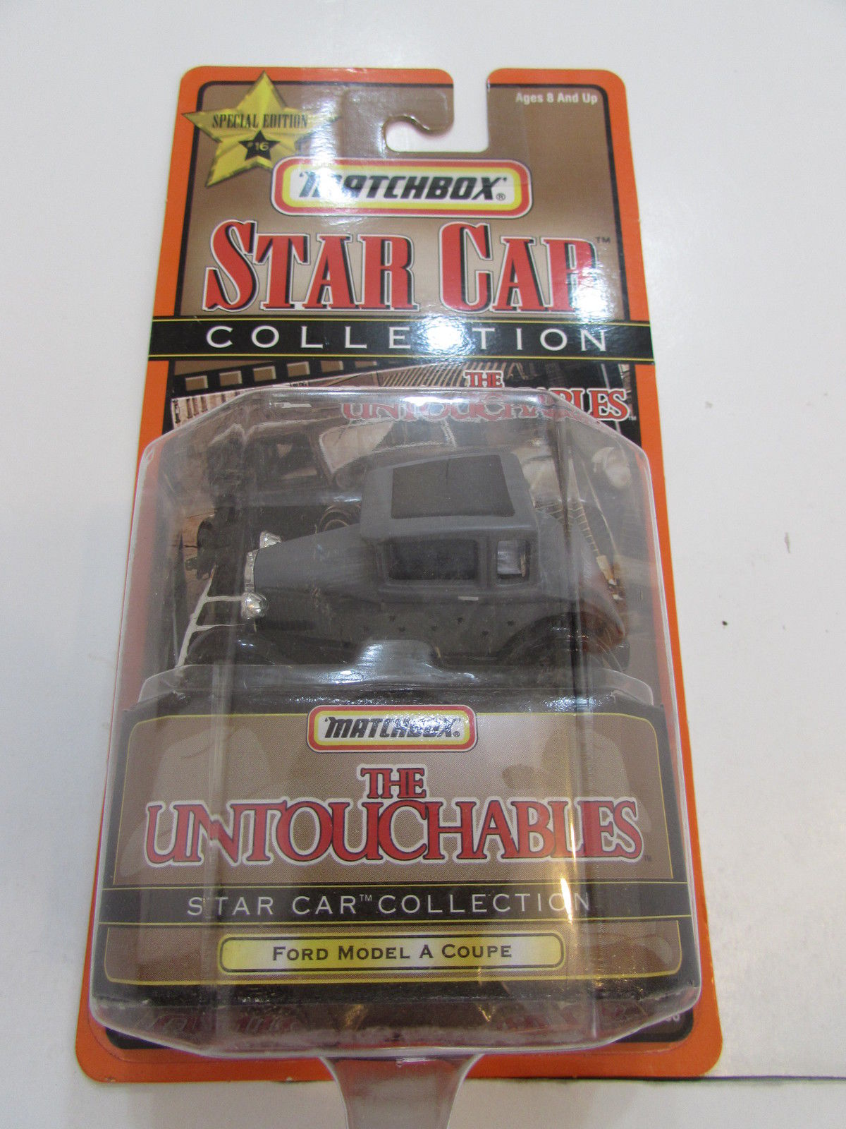 MATCHBOX STAR CAR COLLECTION SPL EDITION #16 THE UNTOUCHABLES FORD MODEL A COUPE