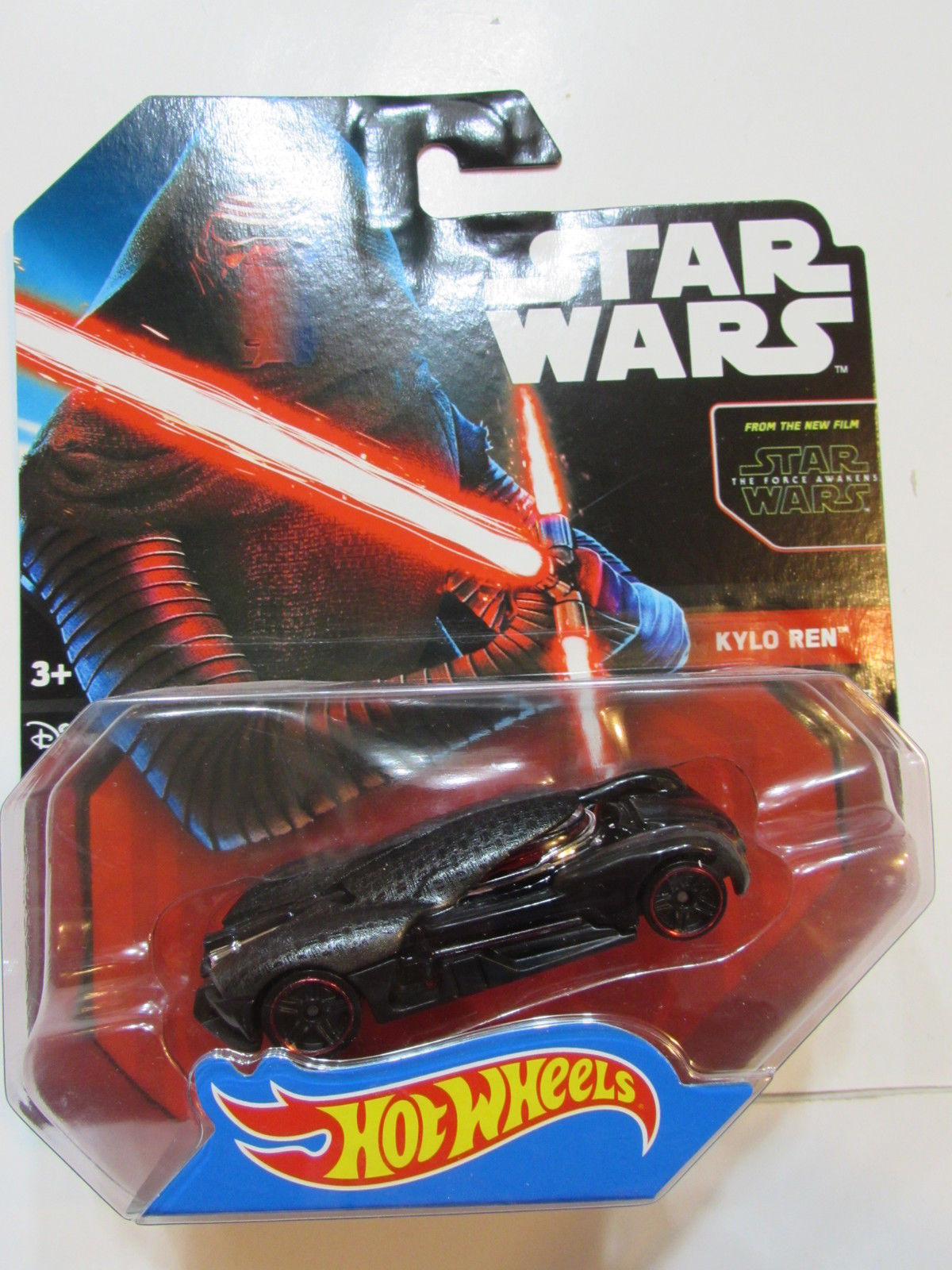 HOT WHEELS STAR WARS 2015 KYLO REN