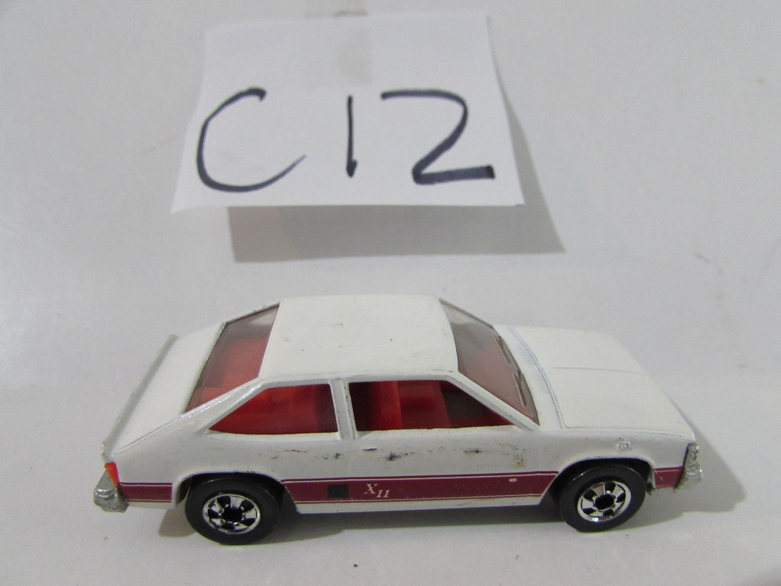 HOT WHEELS 1980 CHEVROLET CITATION XII ON HONG KONG BASE WHITE LOOSE