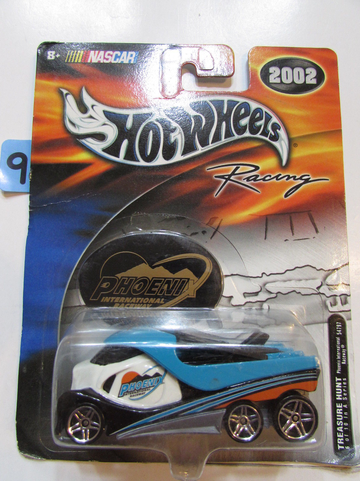 HOT WHEELS NASCAR RACING 2002 TREASURE HUNT PHOENIX INTERNATIONAL RACEWAY #6/10