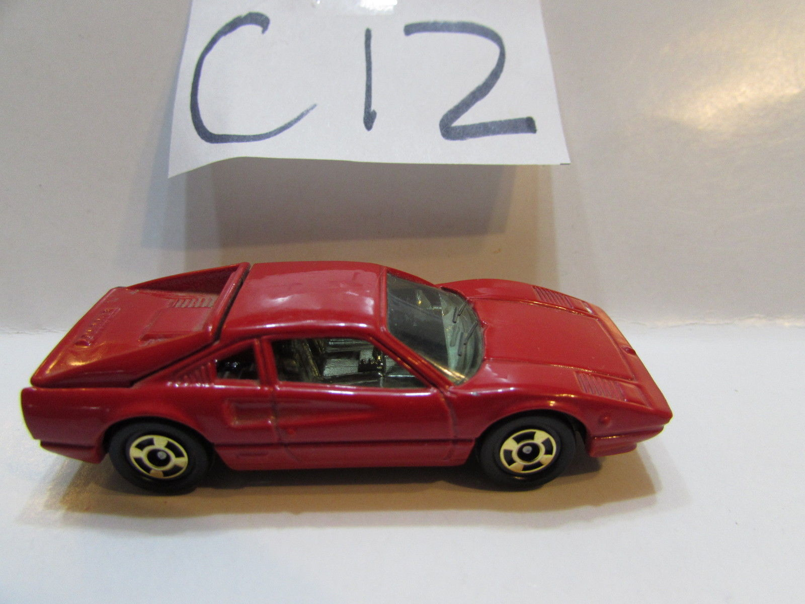 TONICA 1977 FERRARI 308 GTB - NO F 35 LOOSE - MADE IN JAPAN SCALE 1:60