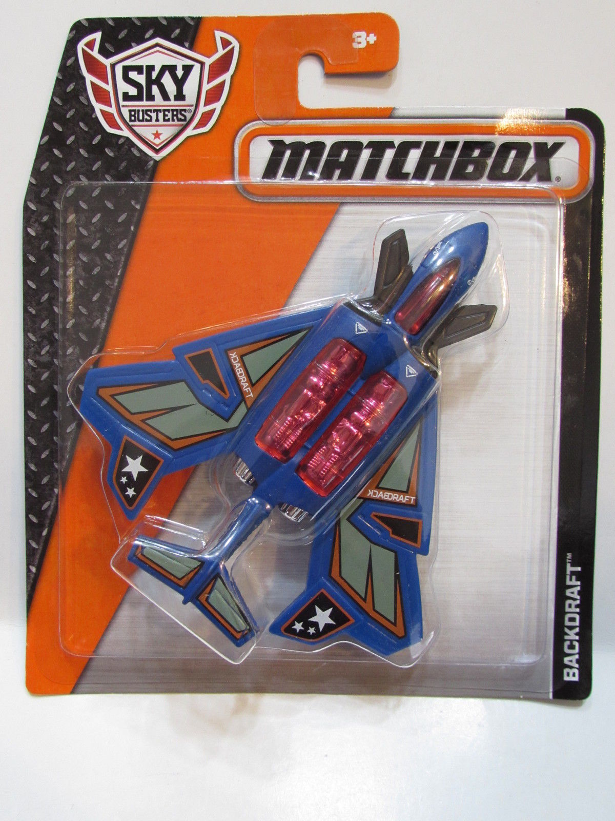 MATCHBOX MBX SKY BUSTERS ON A MISSION - BACKDRAFT