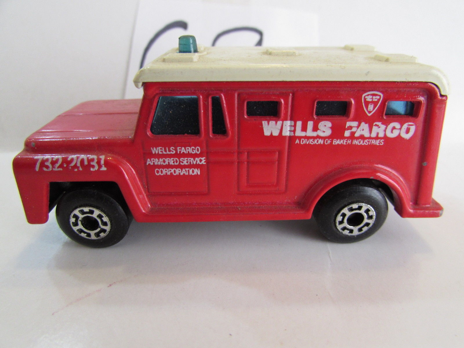 MATCHBOX LESNEY 1978 SUPERFAST - ARMORED TRUCK #69 - MADE IN ENGLAND - LOOSE