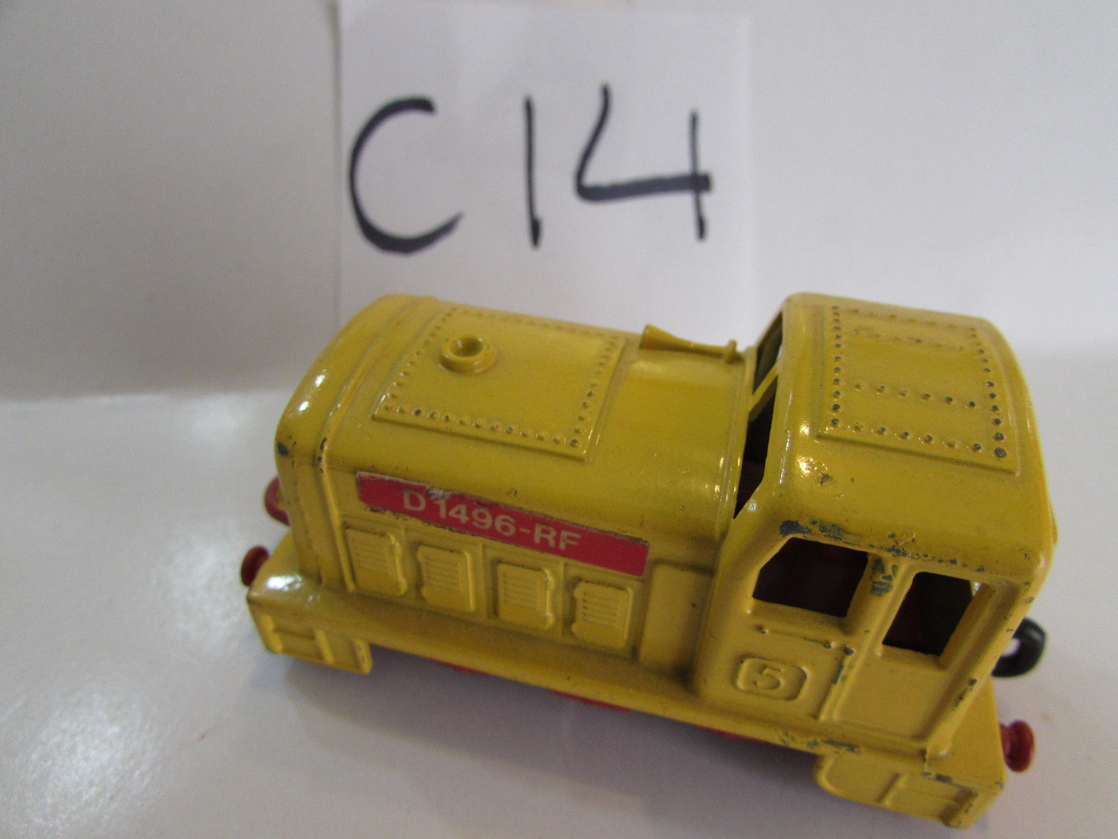MATCHBOX LESNEY 1978 SUPERFAST - SHUNTER D 1496 RF - MADE IN ENGLAND - LOOSE - Click Image to Close