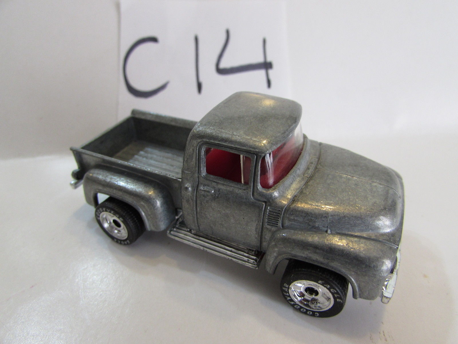 MATCHBOX 1996 INAUGURAL COLLECTION - '56 FORD PICKUP - ZAMAC RAW PAINT