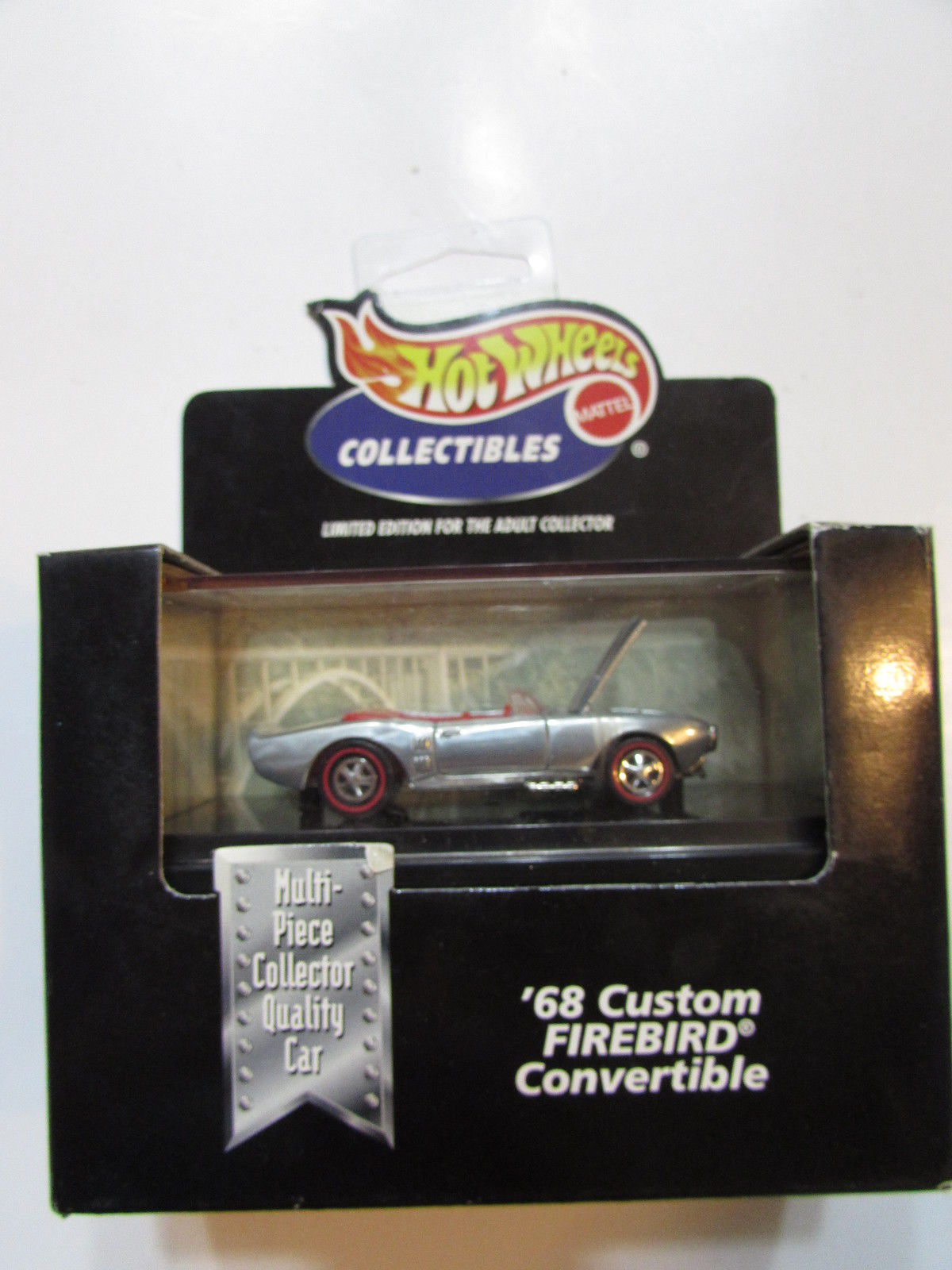 1998 HOT WHEELS COLLECTIBLES - '68 CUSTOM FIREBIRD CONVERTIBLE