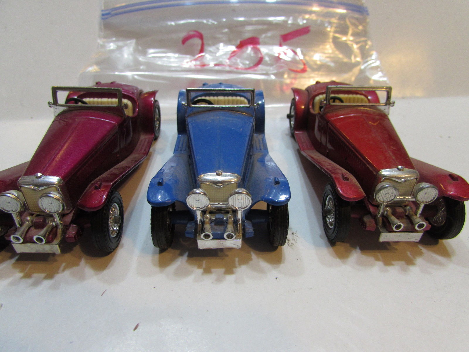 MATCHBOX 1973 LOT OF 3 LOOSE LESNEY 1934 RILEY M.P.H MADE IN ENGLAND