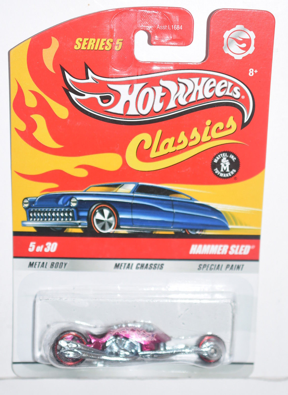 HOT WHEELS CLASSICS SERIES 5 #5/30 - HAMMER SLED