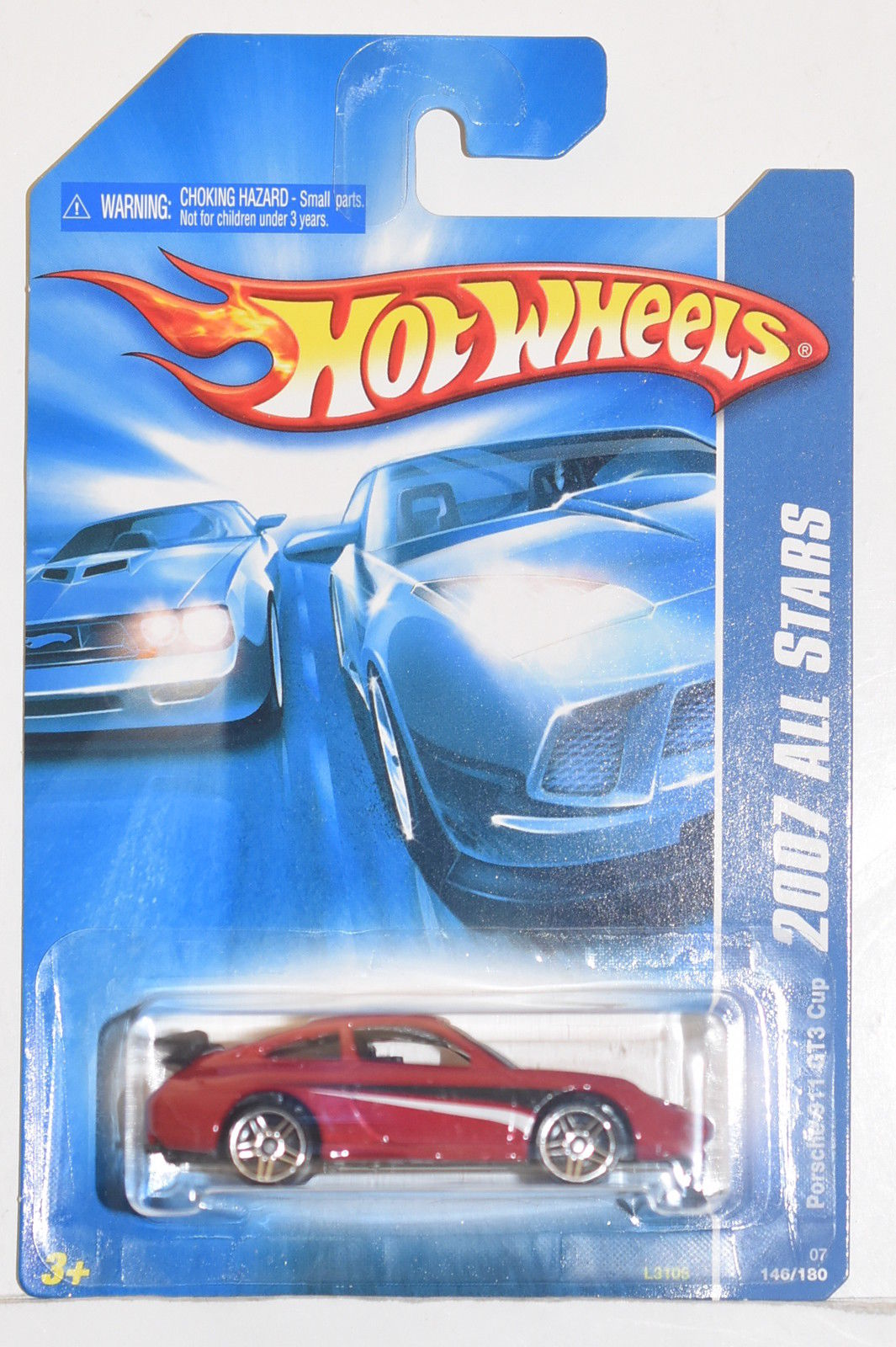 HOT WHEELS 2007 ALL STARS PORSCHE 911 GT3 CUP