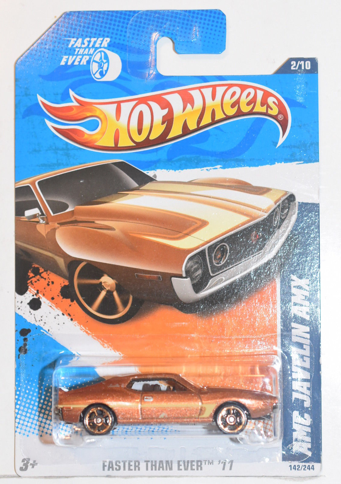 HOT WHEELS 2011 FASTER THAN EVER - AMC JAVELIN AMX