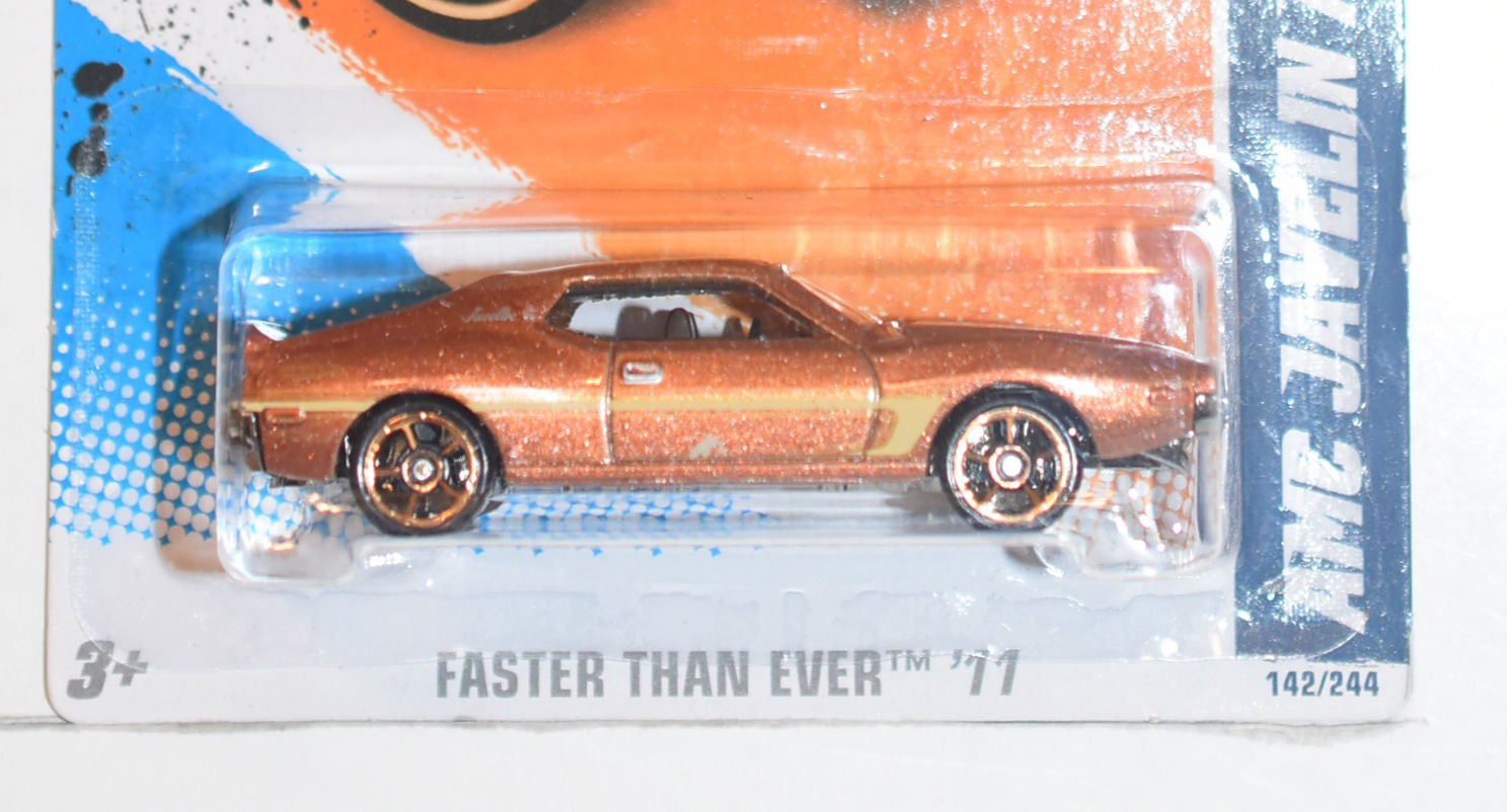 HOT WHEELS 2011 FASTER THAN EVER - AMC JAVELIN AMX [0006418] - $4 64