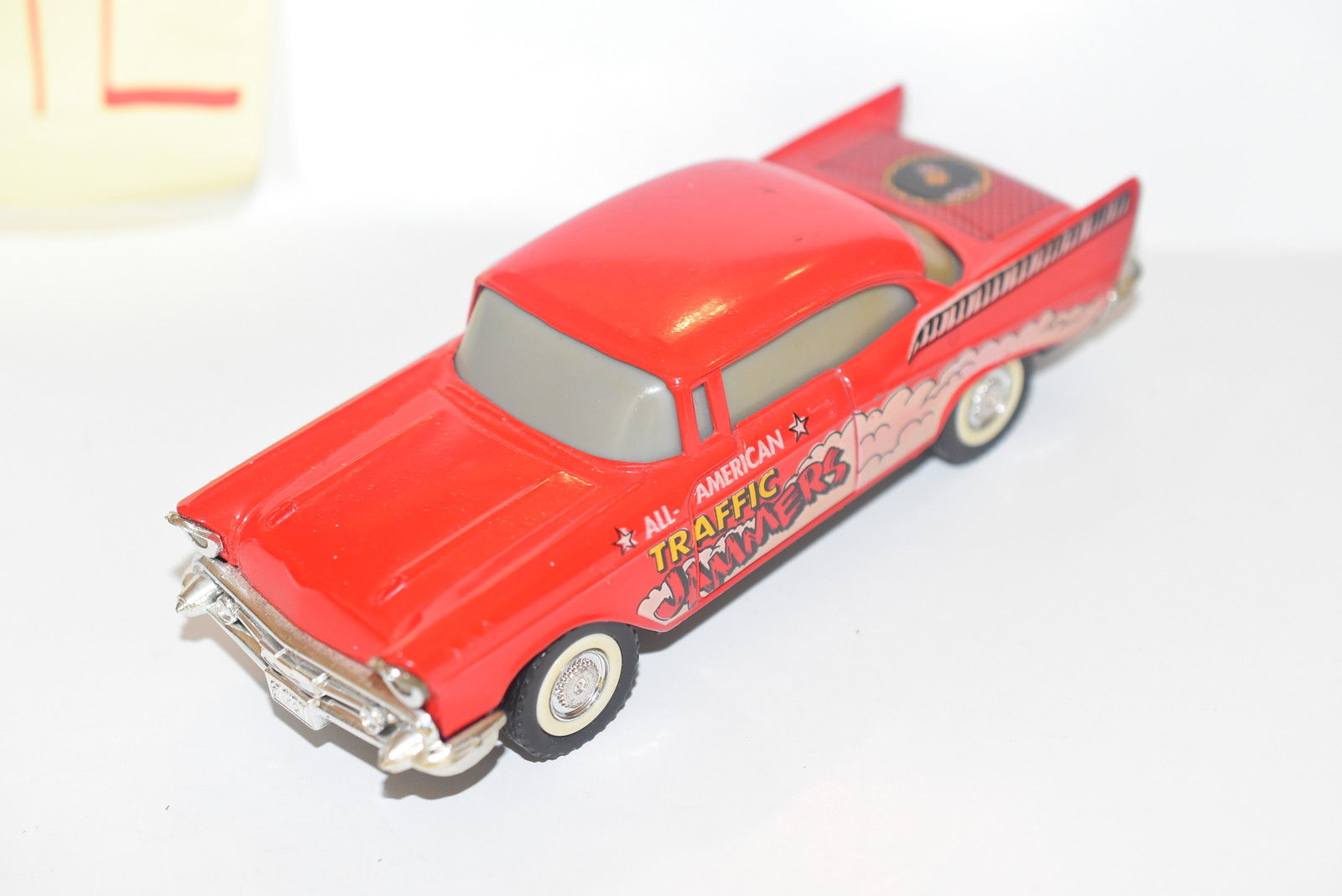 MAJORETTE '57 CHEVY BEL AIR RED - ALL AMERICAN TRAFFIC JAMMERS LOOSE