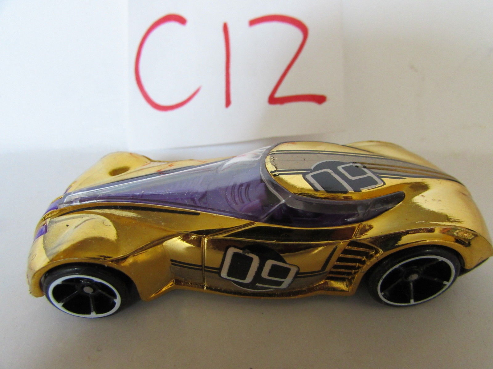 HOT WHEELS COVELIGHT GOLD #09 LOOSE
