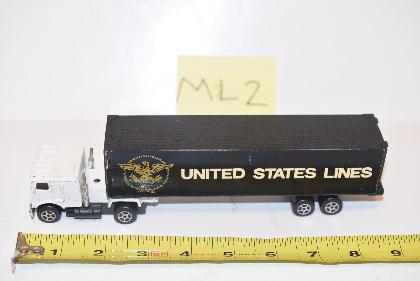 UNITED STATES LINES HAULER ON CHINA BASE - LOOSE