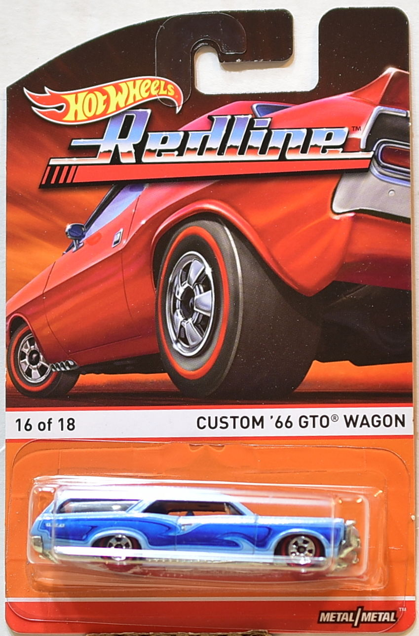 HOT WHEELS RED LINE CUSTOM '66 GTO WAGON