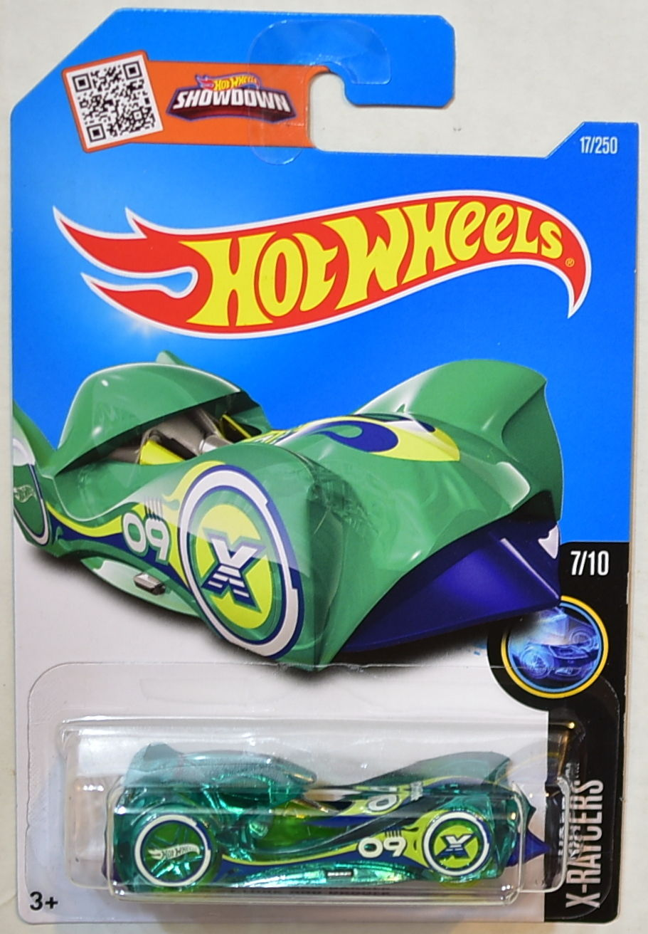 HOT WHEELS 2016 X-RAYCERS #7/10 CLOAK AND DAGGER