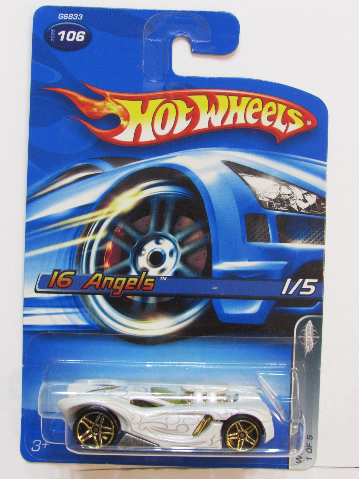 HOT WHEELS 2005 WHITE HEAT 16 ANGELS #106