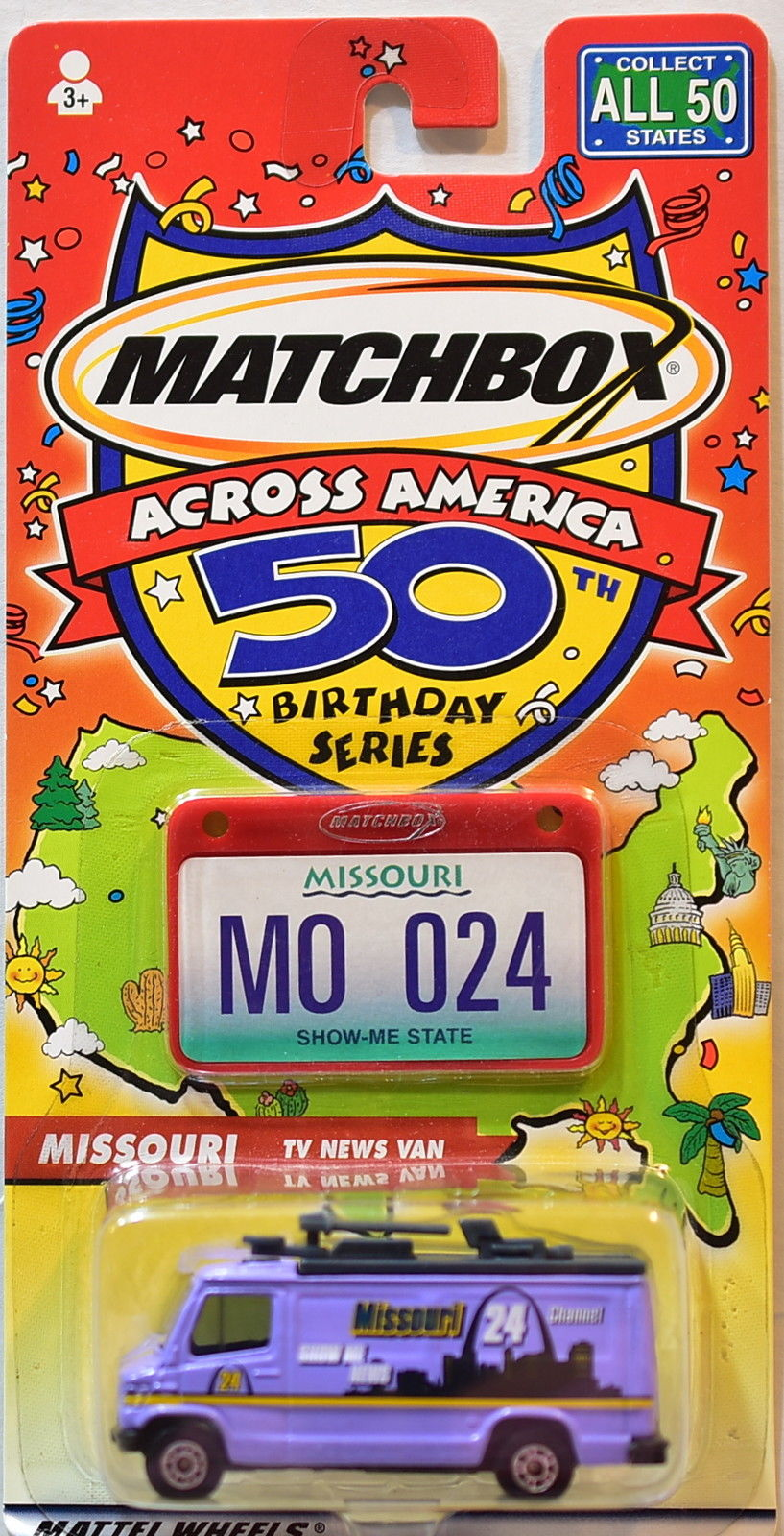 MATCHBOX ACROSS AMERICA 50TH BIRTHDAY SERIES MISSOURI