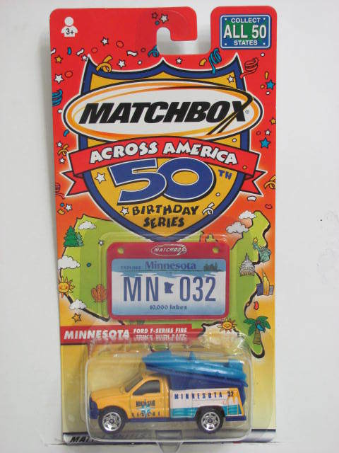 MATCHBOX ACROSS AMERICA 50TH BIRTHDAY SERIES MINNESOTA